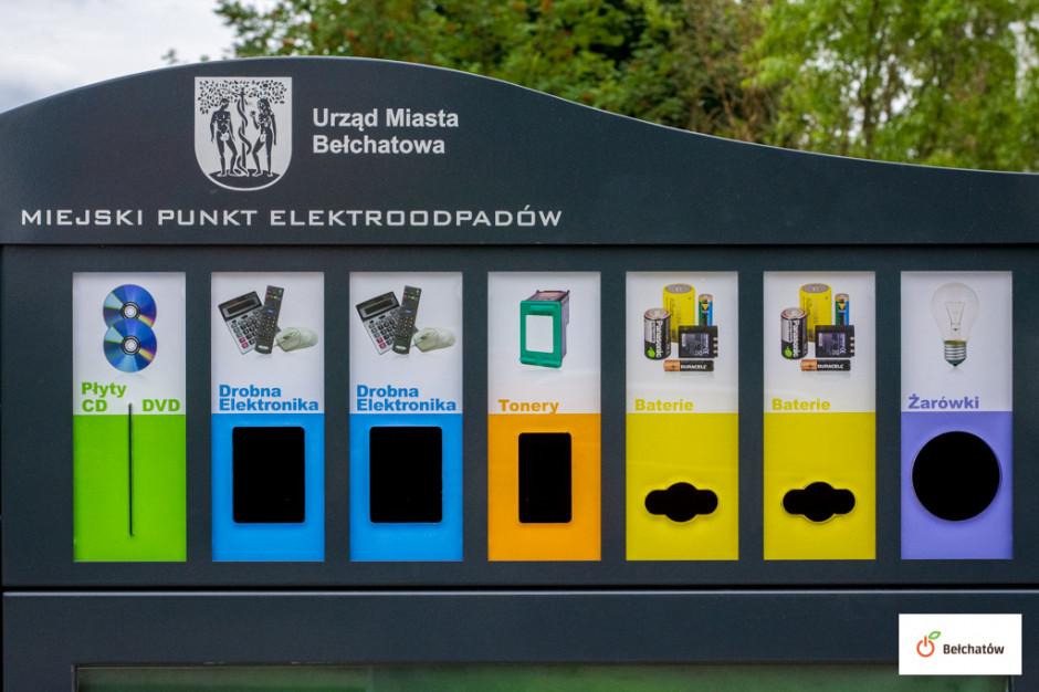 Stacja odbioru elektroodpadów ułatwia mieszkańcom segregację