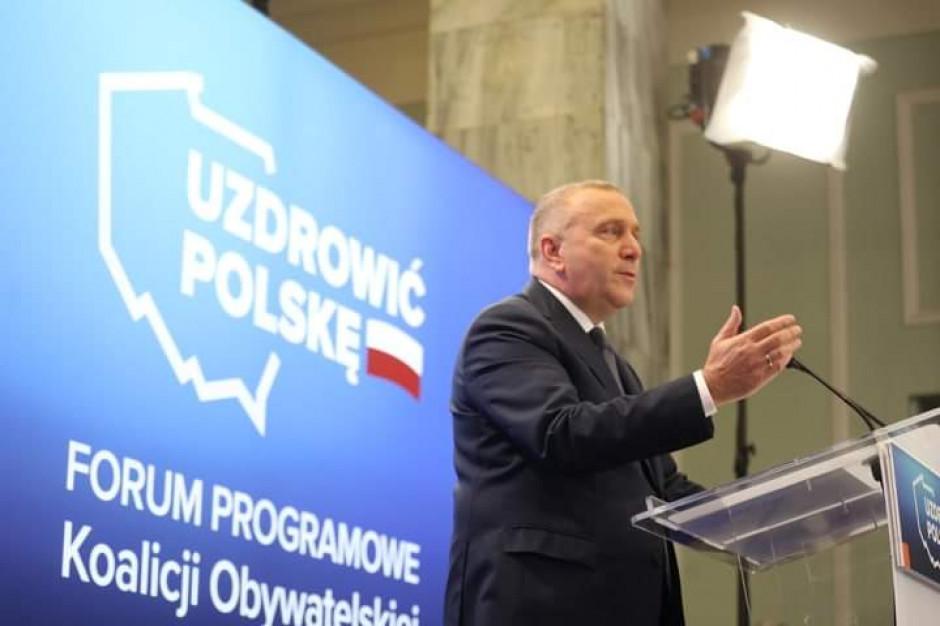 Grzegorz Schetyna o 500 plus: nic co dane, nie będzie odebrane