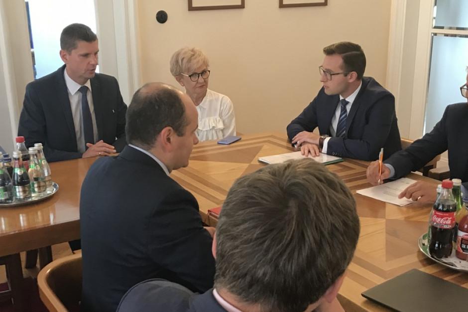 Minister edukacji spotkał się z przedstawicielami Związku Miast Polskich