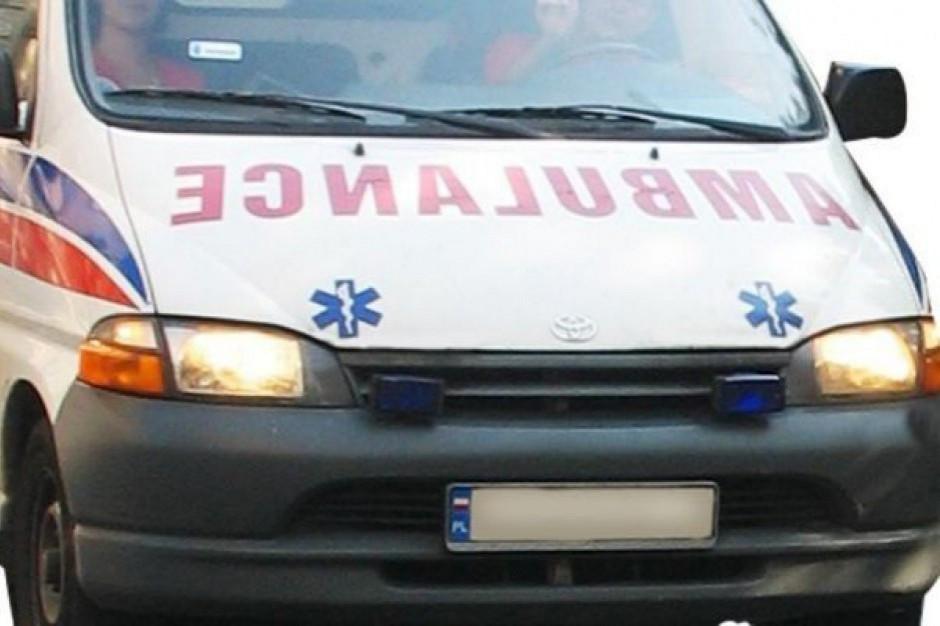 Samochody sanitarne blokowały podjazd na SOR? Jest śledztwo