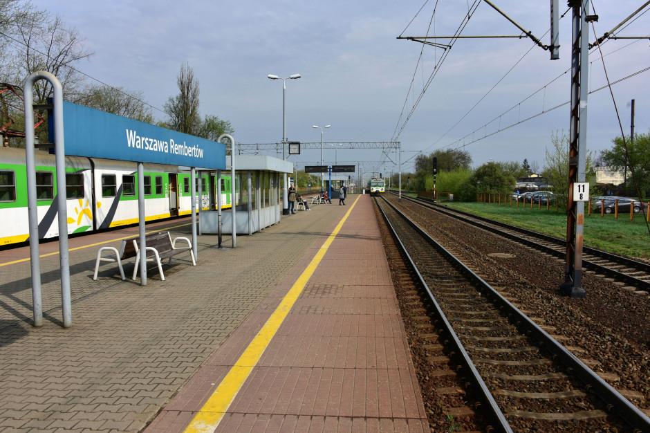 Warszawa: Rusza remont torów. Mniej pociągów na trasie z centrum Warszawy do Rembertowa