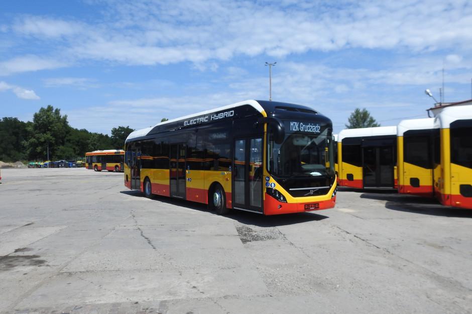 Hybrydowe autobusy Volvo wyjadą na ulice Grudziądza