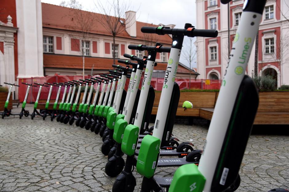 Pojazdy pożyczane na minuty zaleją miasta