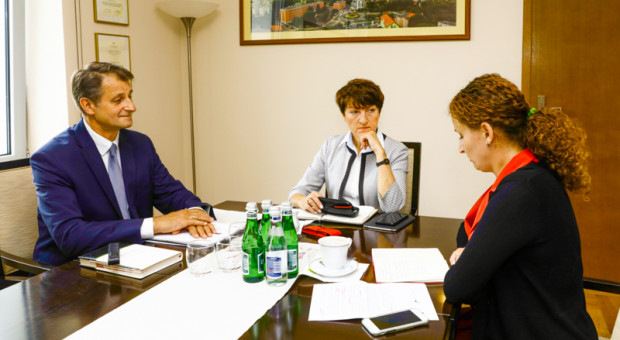 Spotkanie w sprawie projektu odbyło się w Urzędzie Marszałkowskim Województwa Lubuskiego (fot. lubuskie.pl)