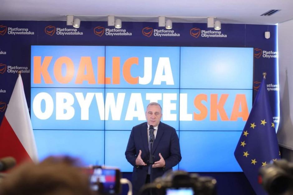 Schetyna: Zaprosimy samorządowców na listy wyborcze Koalicji Obywatelskiej