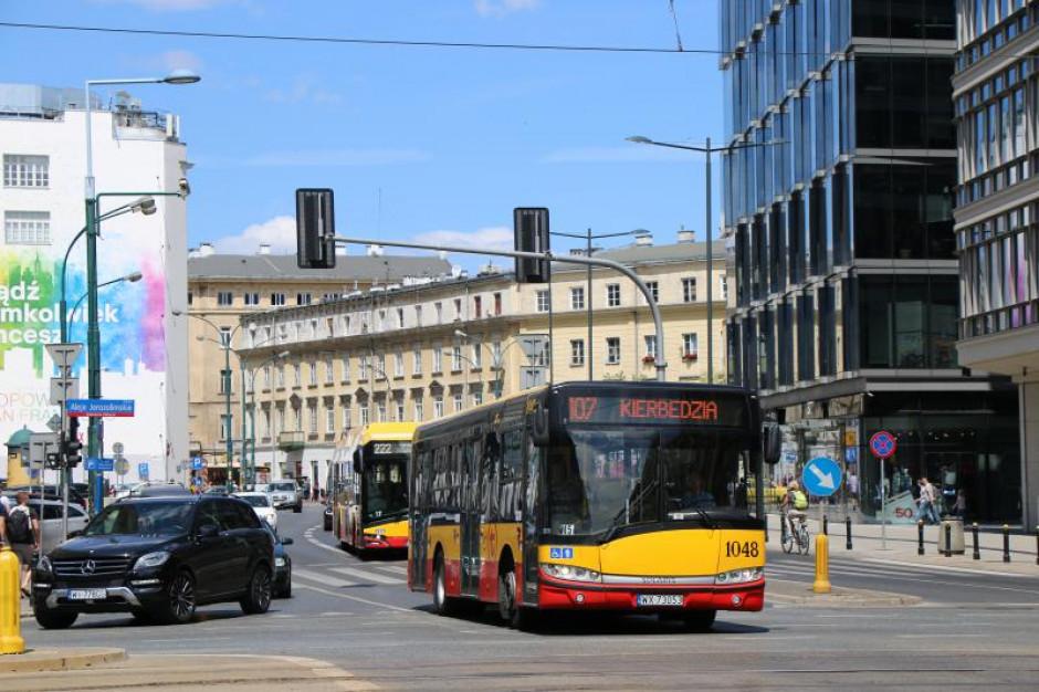 Warszawa: Zmiany w komunikacji miejskiej w weekend