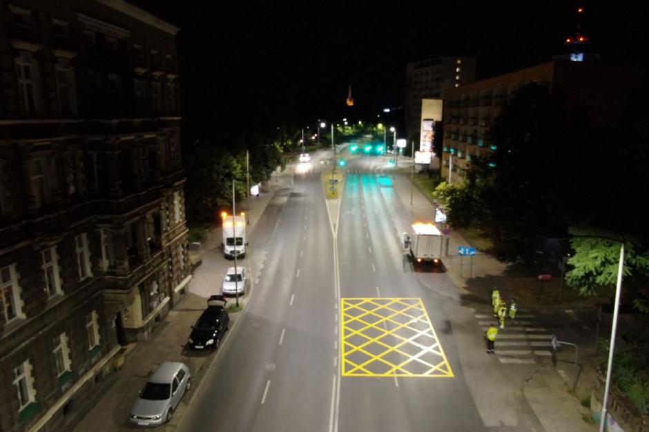 Yellow boxy na szczecińskich ulicach już działają. Pilotaż pod okiem ministerstwa wystartował