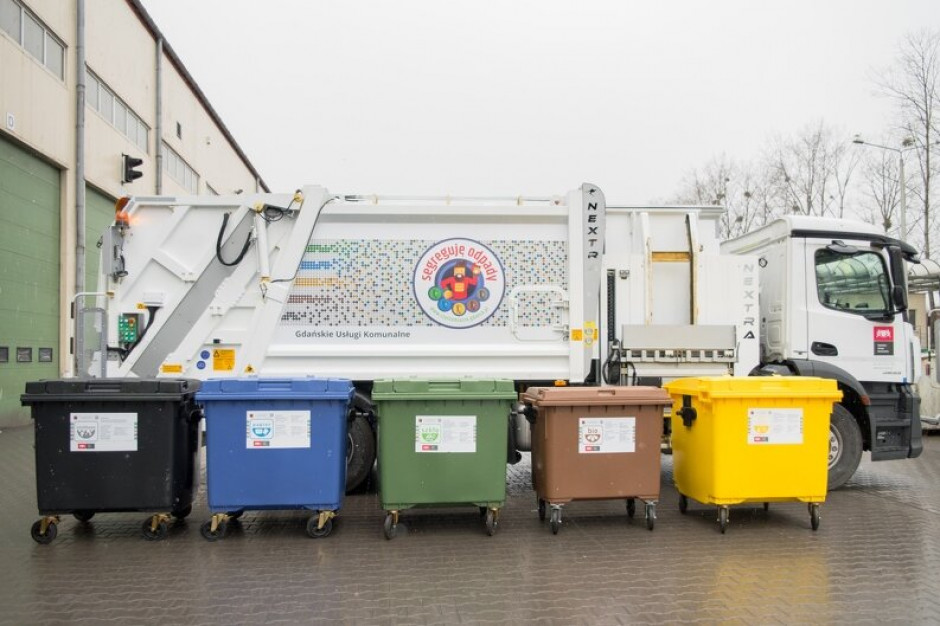 Przetarg na odbiór odpadów w Gdańsku wygrała firma Suez