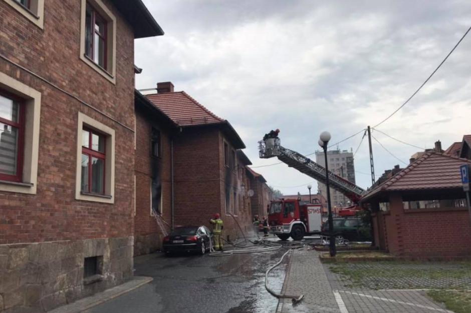 Wybuch gazu w Rudzie Śląskiej - dwie osoby ranne