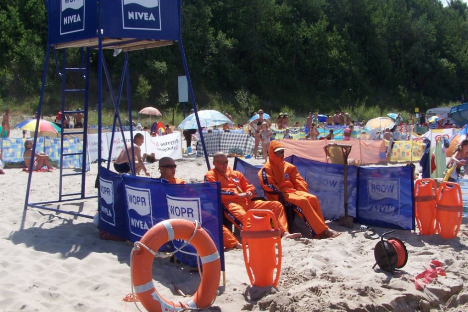 Ratownik wodny: zwracajmy uwagę, czy inni kąpiący się nie potrzebują pomocy