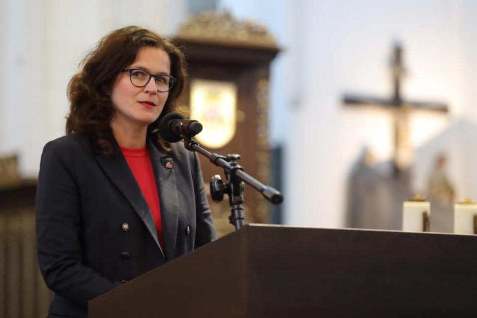 Dulkiewicz: napisałam do prezydenta o zawetowanie lub skierowanie do TK ustawy o Westerplatte