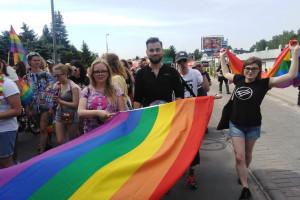 Są incydenty na Marszu Równości w Białymstoku