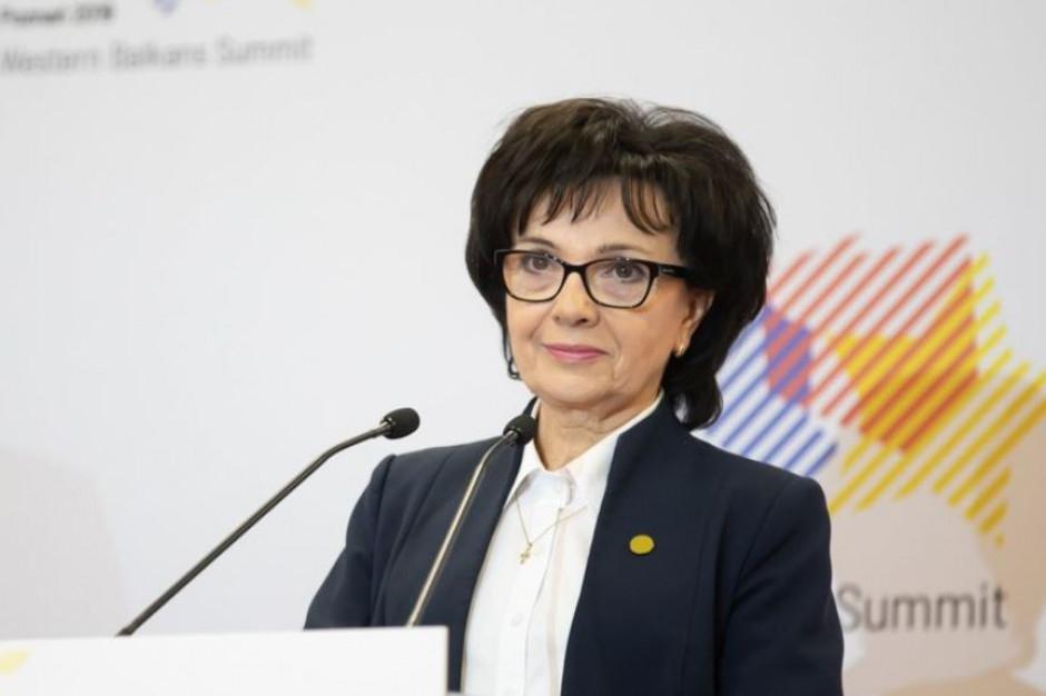 Elżbieta Witek o łamaniu prawa w Białymstoku: będą surowe kary