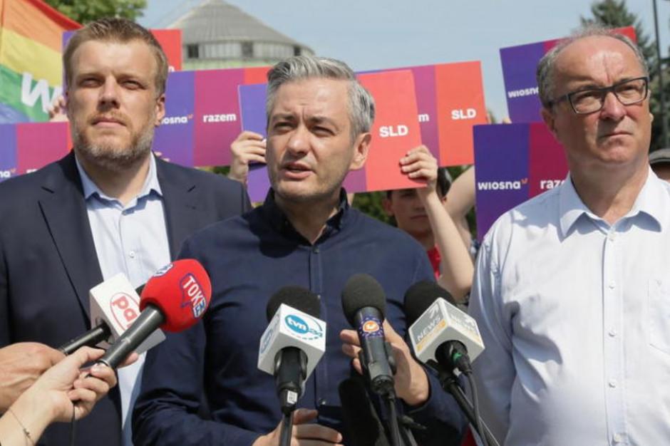 Manifestacja lewicy przeciw przemocy w Białymstoku - ostatecznie w niedzielę