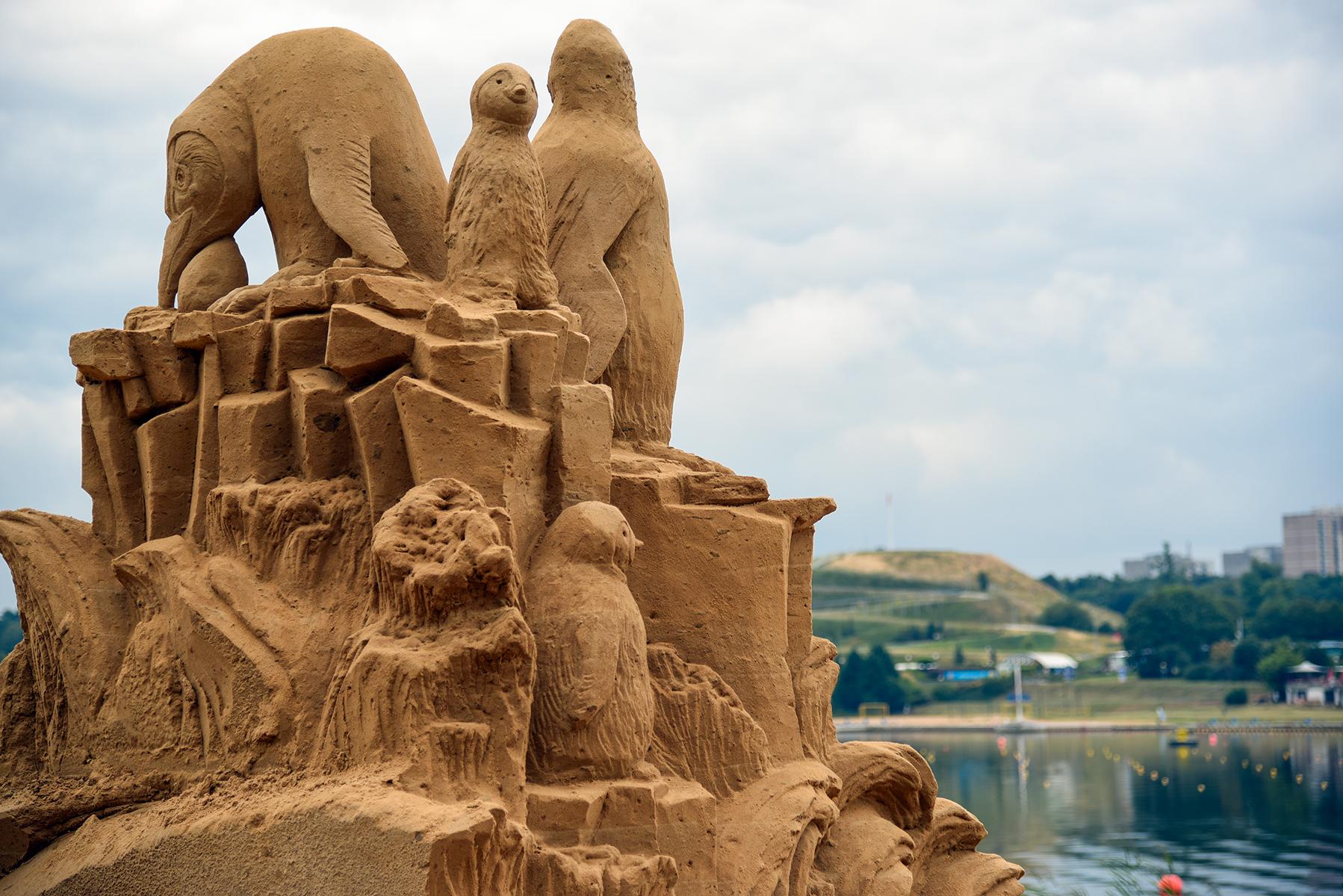 Fot. Poznań Sand Festival 2019