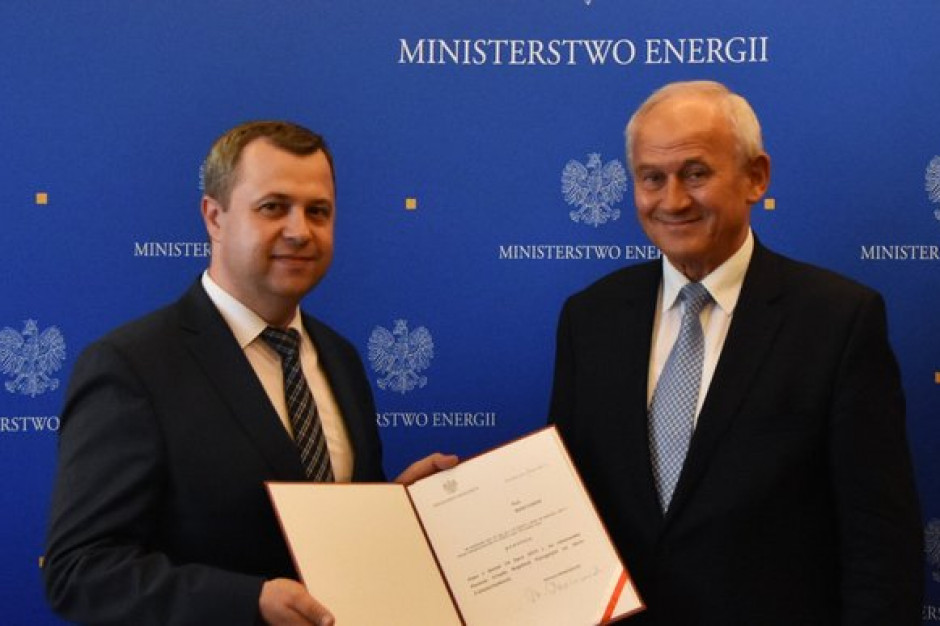 Rafał Gawin nowym Prezesem Urzędu Regulacji Energetyki