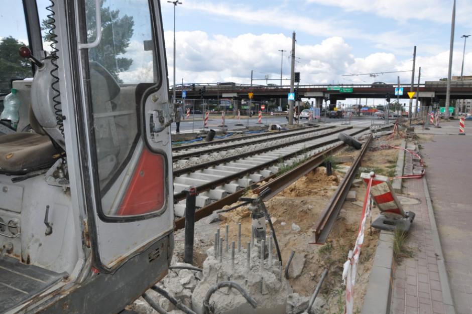 Częstochowa: ruszyła przebudowa głównej trasy tramwajowej