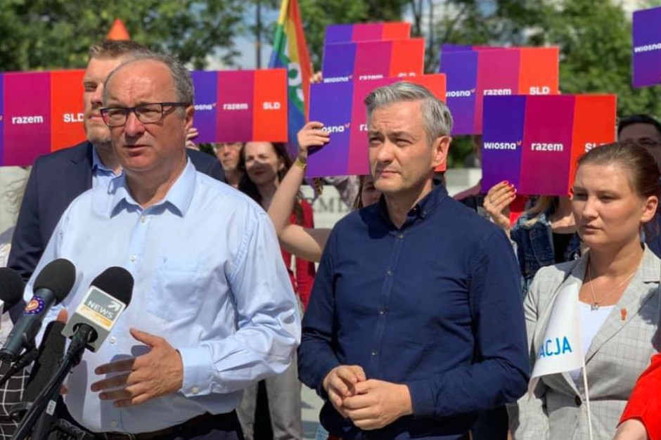 Lewica wzywa wszystkie partie do uczestnictwa w niedzielnej manifestacji w Białymstoku