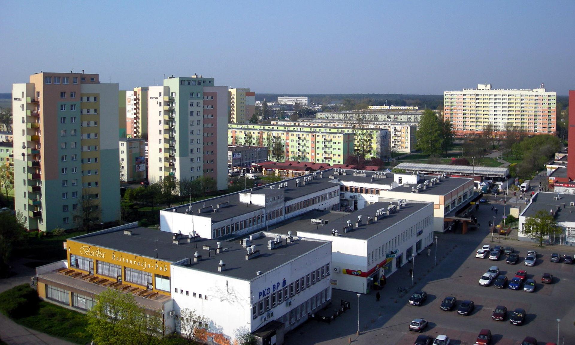 Osiedle Błonie w Bydgoszczy (fot. wikipedia.org/ Przemysław Jahr/Domena publiczna)