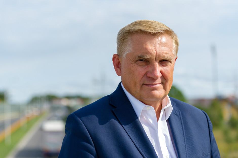 Prezydent Białegostoku Tadeusz Truskolaski (Fot. Twitter)