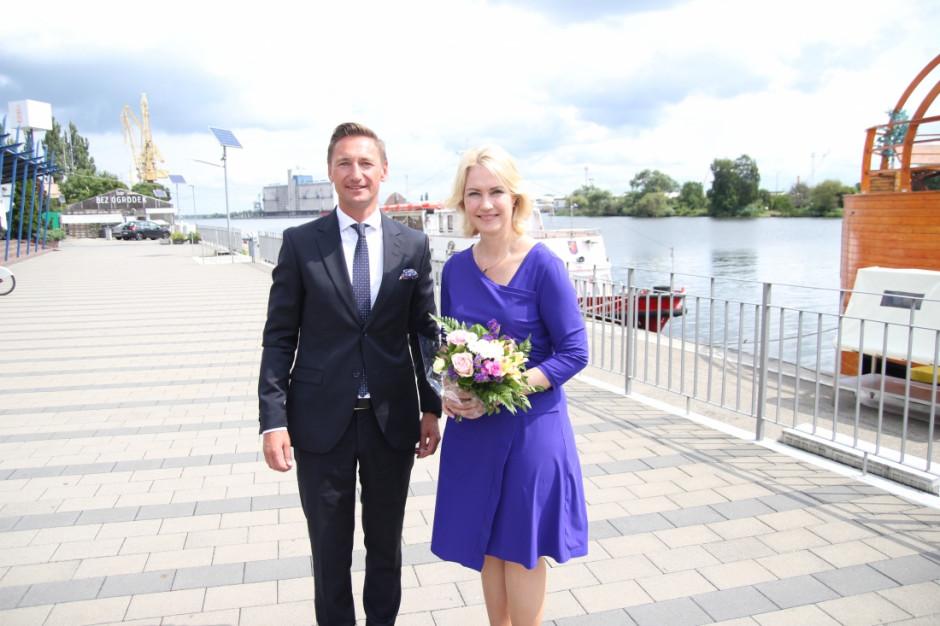 Marszałek Geblewicz spotkał się z premier Meklemburgii Pomorza Przedniego