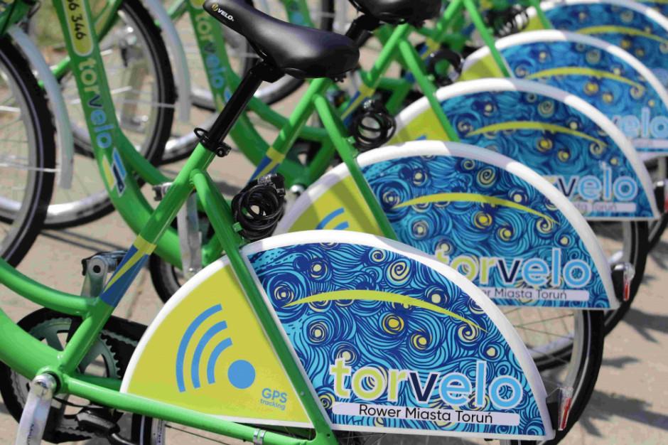 Toruń ma system rowerów miejskich - 40 stacji i 400 jednośladów
