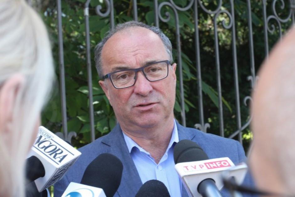 Włodzimierz Czarzasty apeluje do prezydenta stolicy o odbudowę pomnika Berlinga
