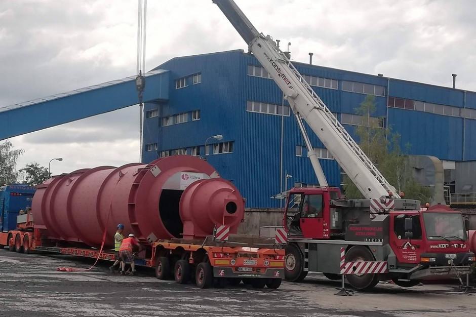 Reaktory instalacji odsiarczania spalin trafiły do skierniewickiej energetyki