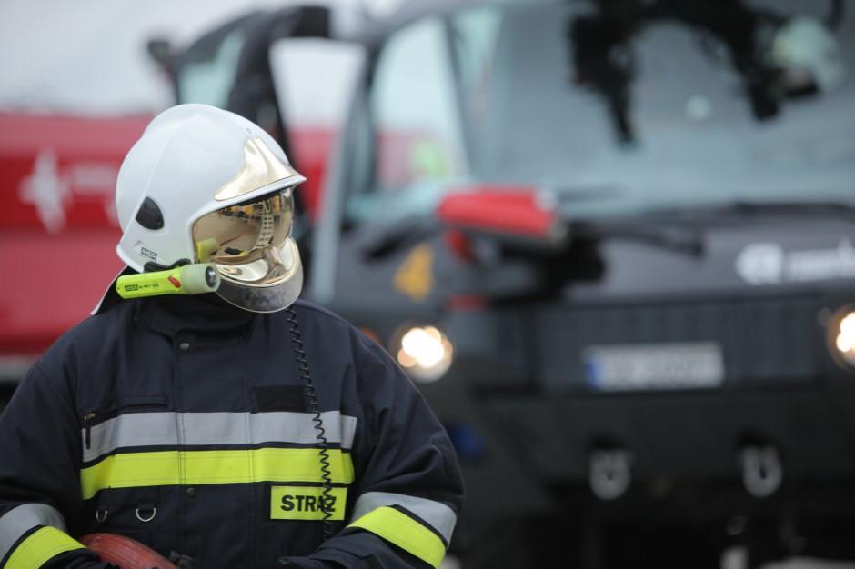 Świętokrzyskie: Wybuch gazu, jedna osoba poparzona