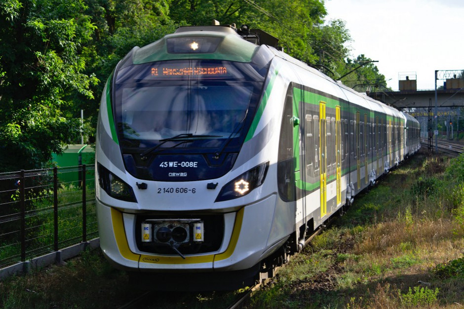 Z Warszawy Wileńskiej odjechał 3,5-milionowy pociąg Kolei Mazowieckich