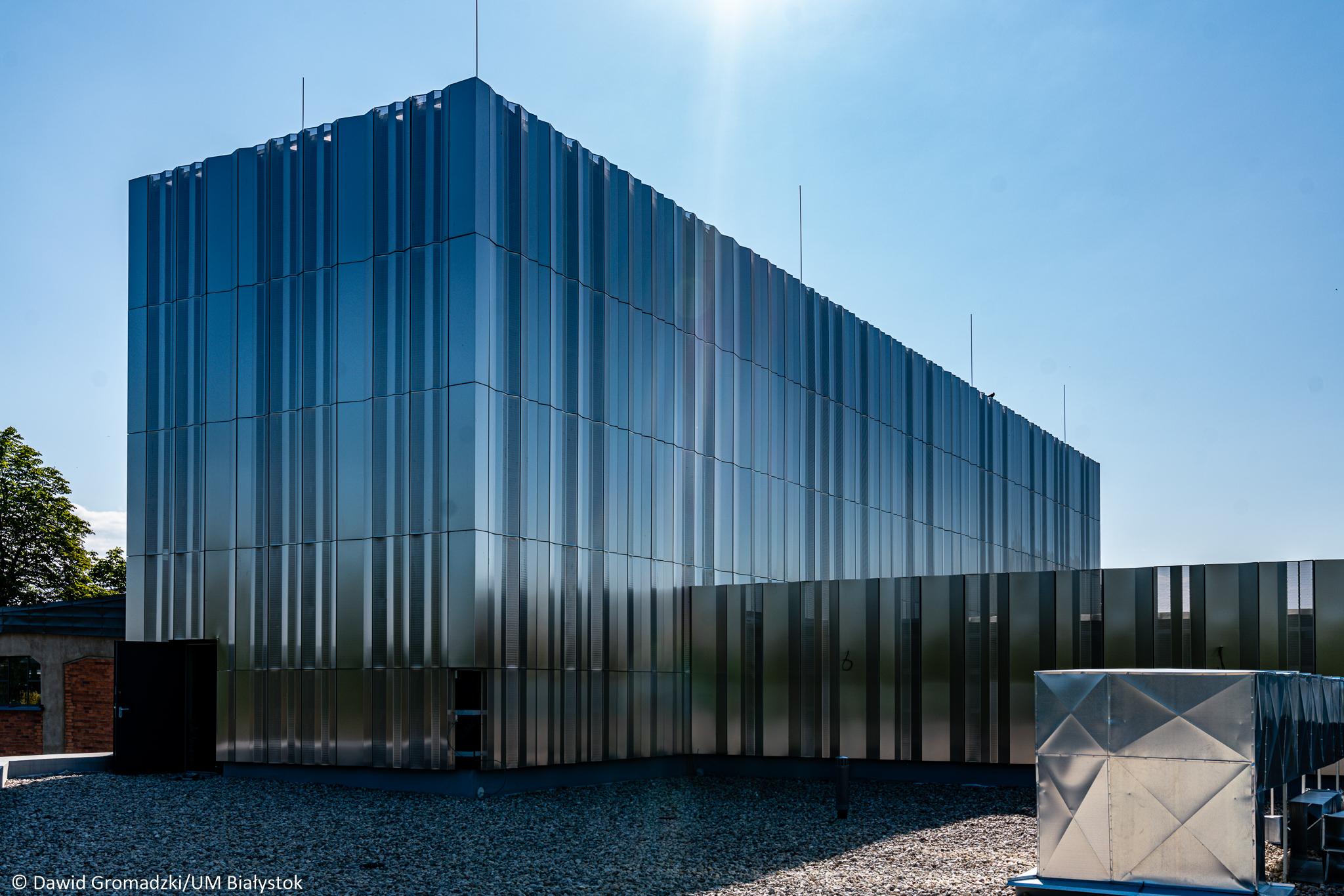 Tak będzie wyglądało powstające w Białymstoku muzeum (fot. Dawid Gromadzki/UMB)
