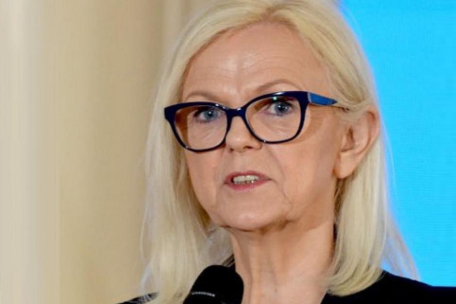 Borys-Szopa: zmieniamy przepisy, by w większym stopniu docenić doświadczonych pracowników