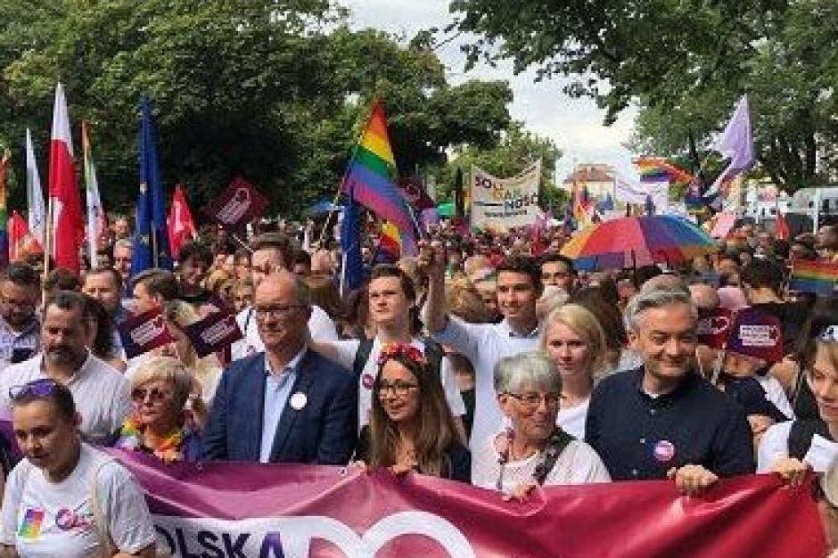 W Płocku przeszedł pierwszy Marsz Równości. Policja podsumowuje