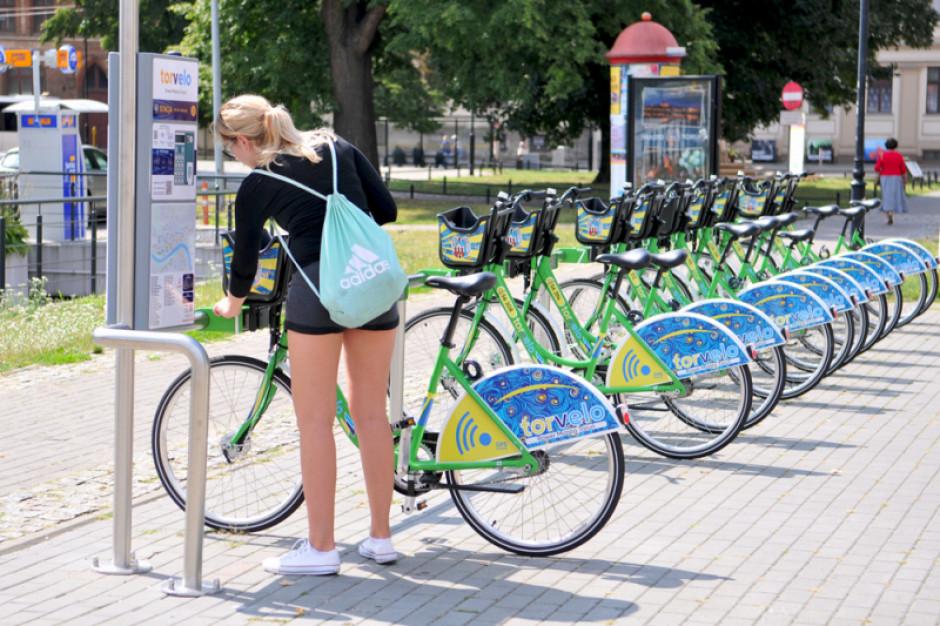 Udany debiut toruńskiego systemu rowerów miejskich