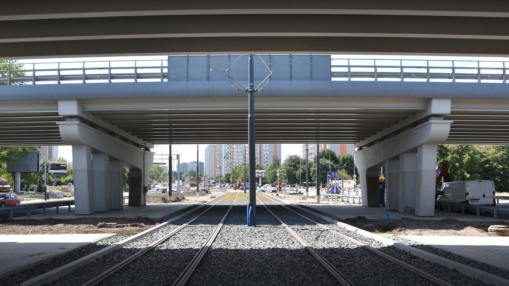 W poniedziałek po raz pierwszy będzie mogło zostać sprawdzone w ruchu z udziałem tramwajów (fot.poznan.pl)