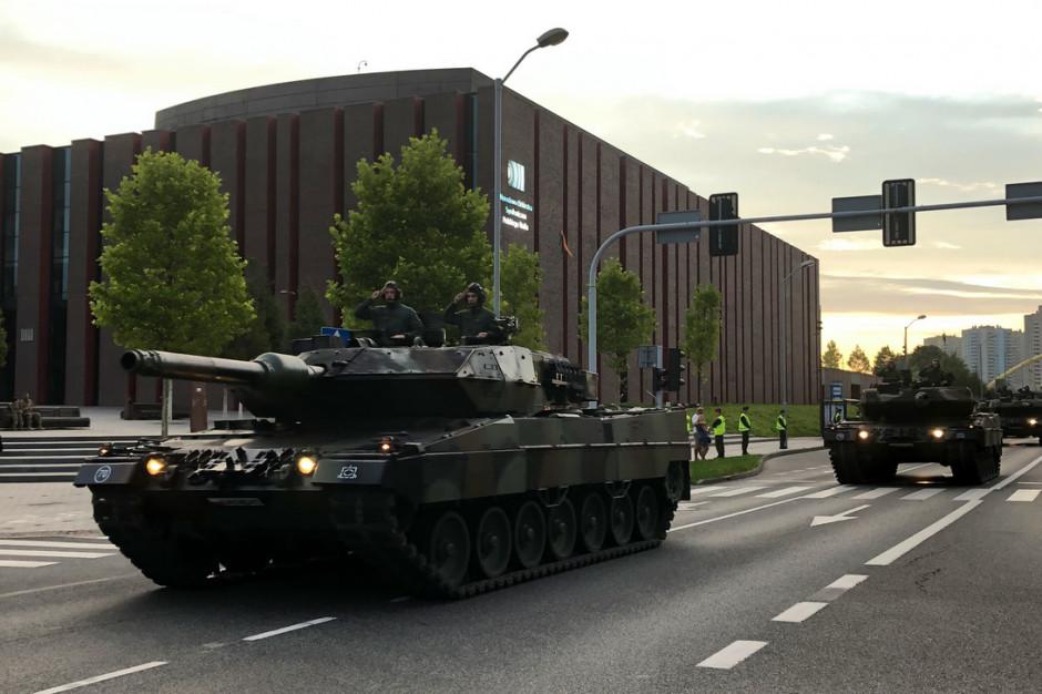 Katowice: próba generalna przed defiladą, będą utrudnienia w ruchu