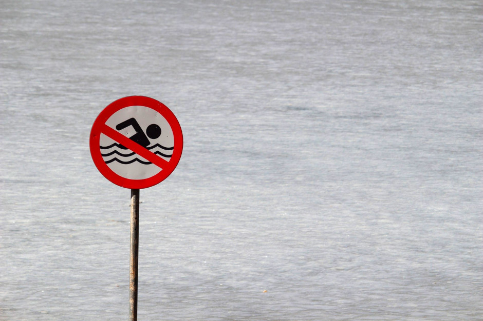 Kąpieliska nad Zalewem Szczecińskim zamknięte