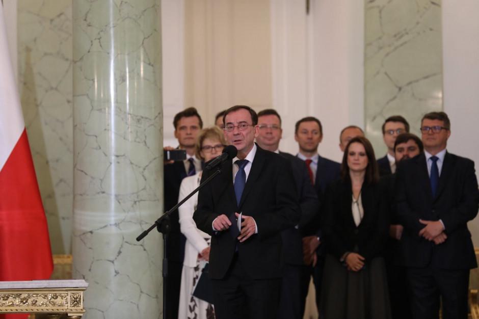 Mariusz Kamiński: Zrobię wszystko, by profesjonalnie poprowadzić MSWiA do końca kadencji
