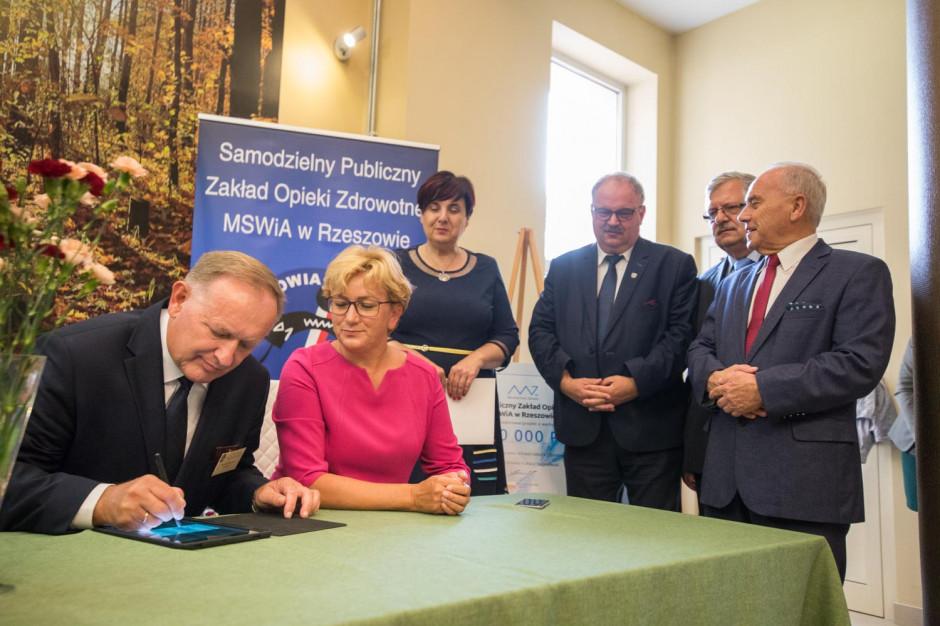 Szpital MSWiA w Rzeszowie kupi sprzęt na oddział kardiologii