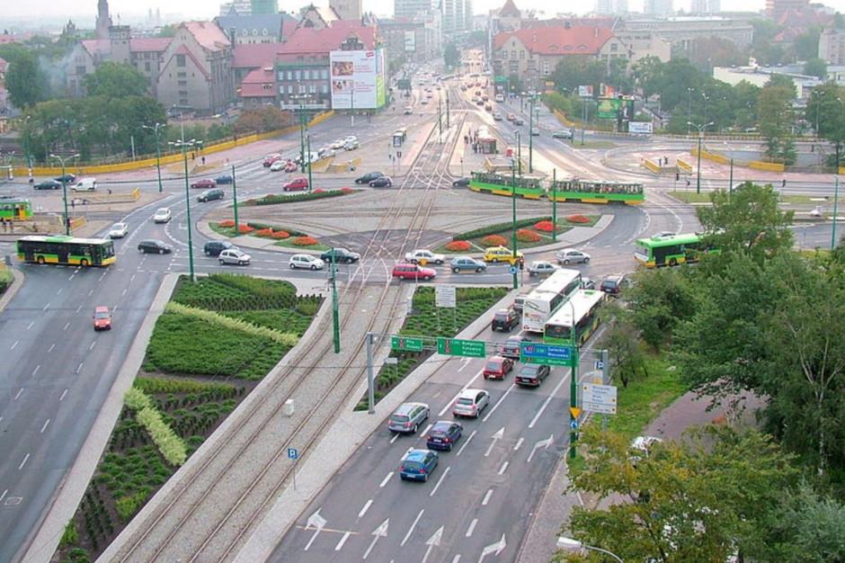 Zmiany w organizacji ruchu na rondzie w Poznaniu. Ma być szybciej