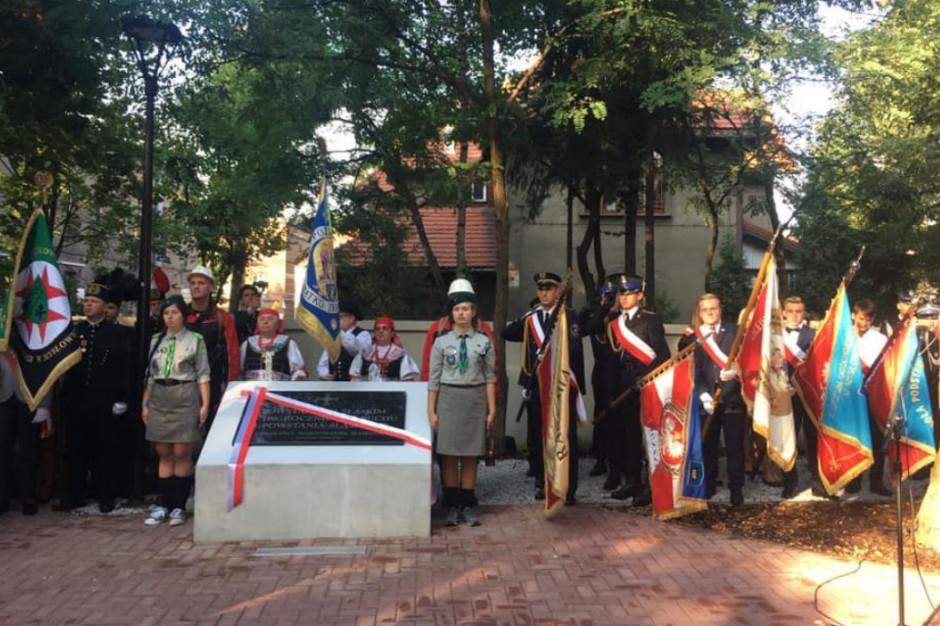 Mysłowice: Odsłonięto tablicę upamiętniającą powstańców śląskich