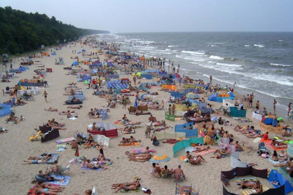 Wszystkie nadbałtyckie kąpieliska są czynne. Zakaz kąpieli nad Zalewem Szczecińskim