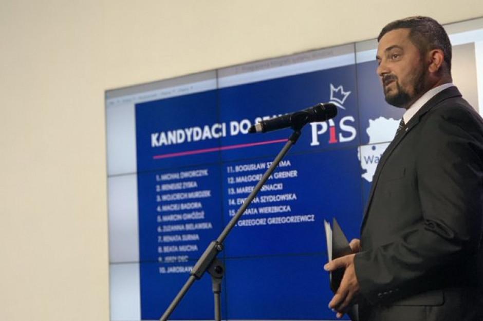 Lubuskie. Wiceprzewodniczący rady miasta na lisach PiS do Sejmu i Senatu