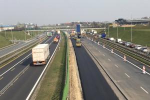 Nowa organizacja ruchu na autostradowej obwodnicy Poznania