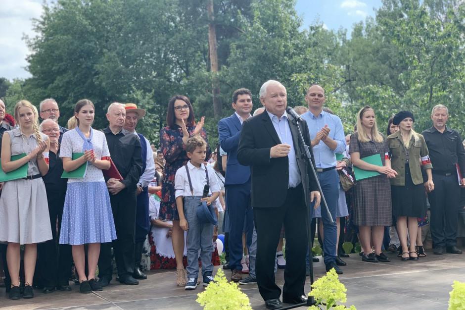 Jarosław Kaczyński: nowoczesne inwestycje służą mieszkańcom Stalowej Woli
