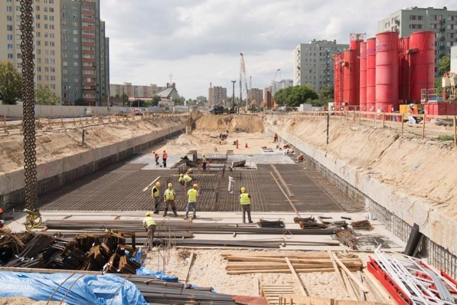 Budowa metra na Bródnie idzie pełną parą. Przed budowlańcami ważny etap