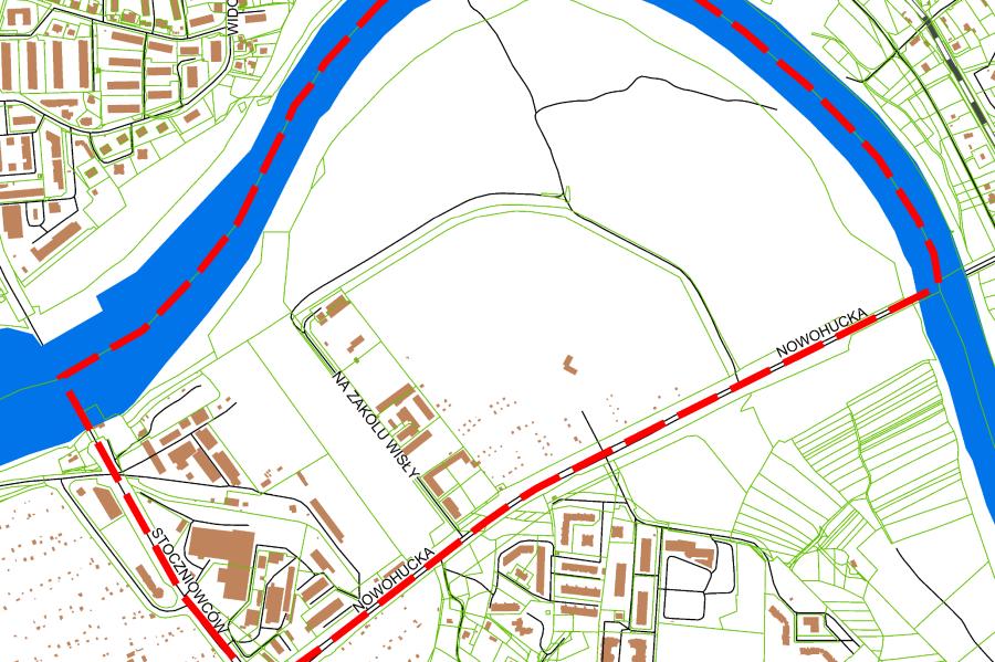 Materiały dotyczące zagospodarowania terenów zakola Wisły można znaleźć w BIP-ie krakowskiego magistratu (fot. bip.krakow.pl)