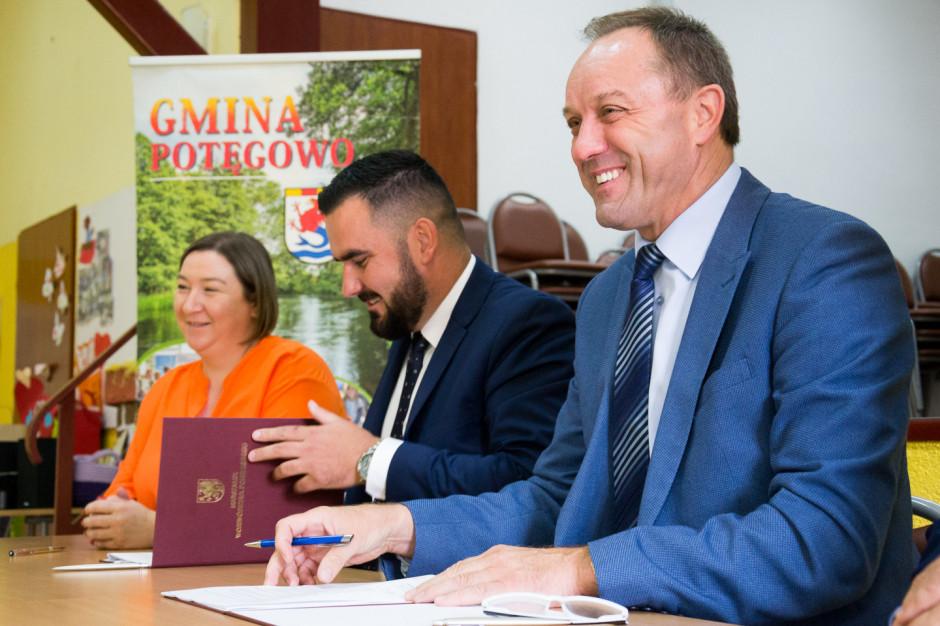 Marszałkowskie wsparcie na edukację w gminie Potęgowo