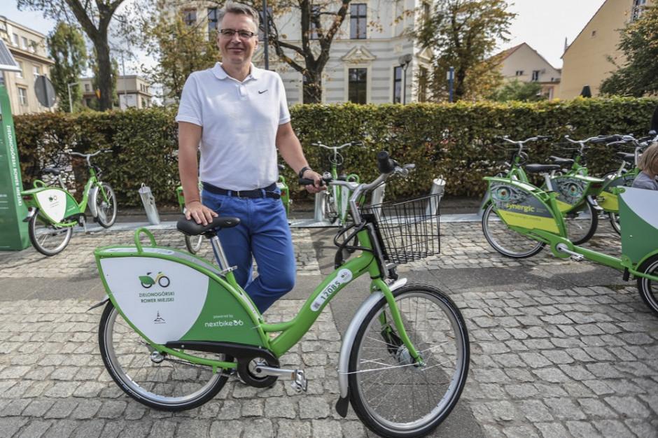 Zielonogórski Rower Miejski obchodzi pierwsze urodziny