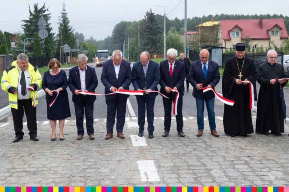 Droga Zabłudów-Żywkowo otwarta po modernizacji